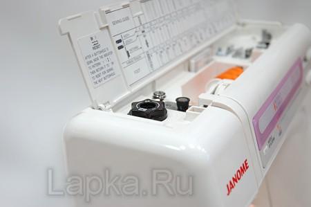 Инструкция к Швейной Машинке Janome 7518a - картинка 4