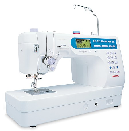 Janome Memory Craft 6500 Professional Швейная машина с микропроцессорным управлением.